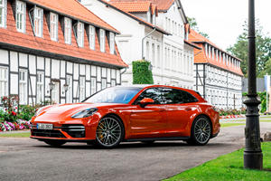 2022 Porsche Panamera Turbo Sport Turismo Review: Wagon Or Rocket Ship?