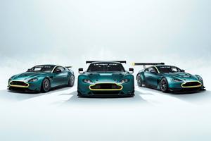 Aston Martin Sells Legendary Vantage Race Cars As 3-Car Package