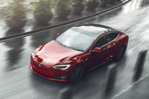 Watch The Roof Fly Off A Tesla Model S