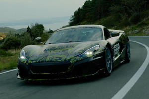 Nico Rosberg Drives The Most Advanced Rimac C_Two Prototype Yet