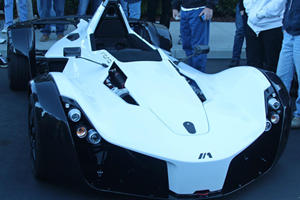 BAC Mono US Premiere at Cars and Coffee Irvine