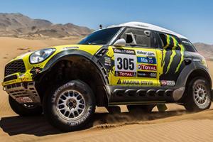 Mini ALL4 Racing Wins Dakar Rally