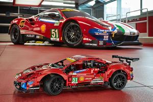 Ferrari 488 Race Car Is The First Ever Lego Ferrari