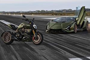 Ducati Unleashes Lamborghini-Inspired Motorbike
