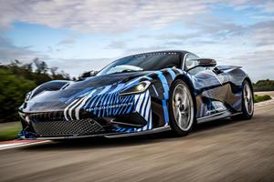 Watch The 1,900-HP Pininfarina Battista Tear Up The Track