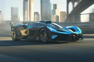 Take The 1,820-HP Bugatti Bolide For A Virtual Spin