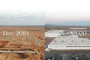 Lucid Air Production Takes A Big Step Forward