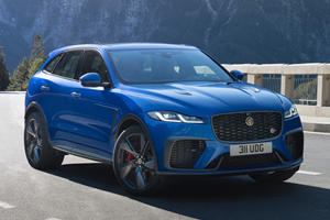 2021 Jaguar F-Pace SVR First Look Review: Better Than Ever