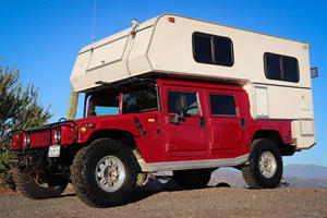 Salvaged Hummer H1 Turned Into Extreme Off-Road Adventurer