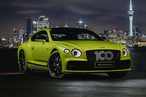 Limited-Edition Bentley Pikes Peak Continental GT Arrives In America