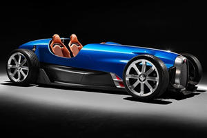 Legendary Bugatti Type 35 Reborn As Modern Showcar