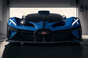 Bugatti Reveals World-First Aero Technology On New Bolide Hypercar