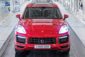 This Is The One-Millionth Porsche Cayenne