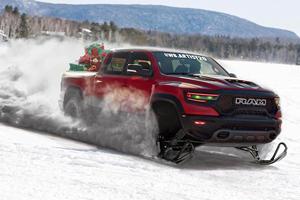 Santa's New Sleigh Has 702 Horsepower And Plenty Of Room For Toys