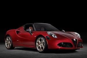 Meet The Stunning Alfa Romeo 4C Spider 33 Stradale Tributo
