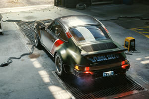 Check Out Cyberpunk 2077's Dystopian Porsche 911 In Action