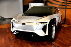 Official: Subaru's First All-Electric Model Coming Soon