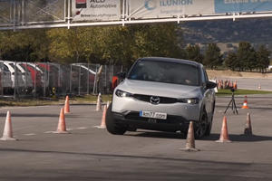 Watch The New Mazda MX-30 Impressively Pass The Moose Test