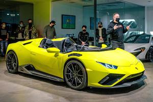 Meet The Supercharged Lamborghini Huracan Evo Aperta
