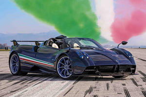 Pagani Huayra Tricolore Is The Most Powerful Huayra Yet