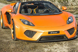 12C Spider by FAB Design Officially Revealed