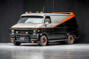 The A-Team's Iconic Van Heads To Auction
