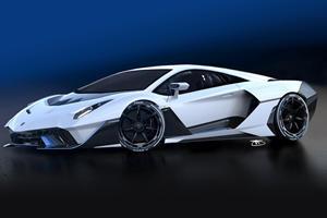 Hardtop SC20 Previews Next Lamborghini Aventador