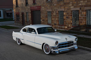 1948 Cadillac Fastback Coupe Hides An ATS-V Secret