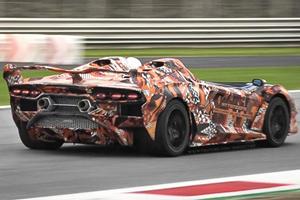 Watch The One-Off Lamborghini SC20 Blast Around Monza