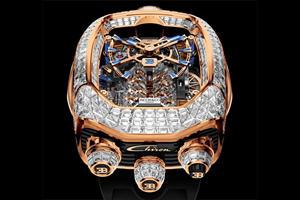 Bugatti Chiron-Inspired Watches Feature W16 Engine Block