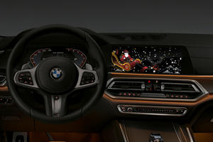 BMW Is Taking Over Your Infotainment To Celebrate Christmas