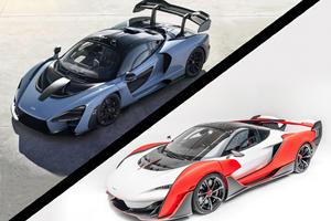 Hypercar Comparison: McLaren Senna Vs. McLaren Sabre