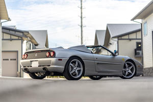 Shaquille O'Neal's Ferrari F355 Spider Is MASSIVE Inside