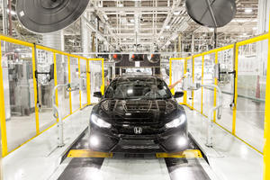 Honda Closes Out 2020 With New Production Records