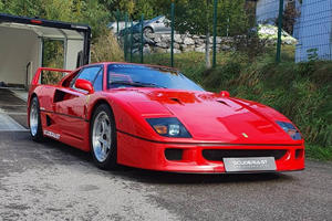 Straight-Pipe Ferrari F40 Is The Best-Sounding Car You'll Ever Hear