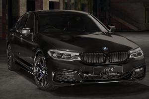 BMW 5 Series Dark Shadow Edition Is One Sinister Sedan