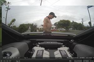 Watch This Dumb Car Thief Take Audi R8 On Harrowing Joyride