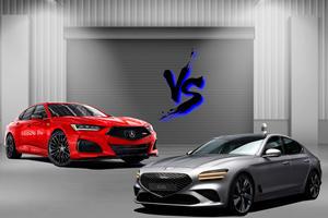 Acura TLX Vs. Genesis G70: Best Budget Ballers