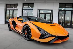First Lamborghini Sian Arrives In America