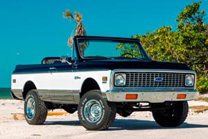 Beach-Ready Chevy K5 Blazer Costs More Than A Porsche Cayenne Turbo