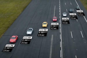 Porsche Gathered Every 911 Turbo Generation For Epic Drag Race