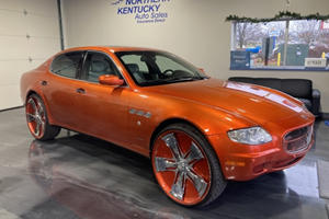 Maserati Quattroporte Donk Is One Ugly Duckling