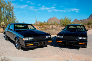 1987 Buick Grand Nationals Are Six-Figure 'Twinz'