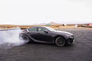 Watch A Formula Drift Driver Slide Around In The Lexus IS 350 F-Sport