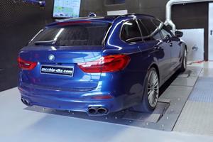 This BMW Alpina Wagon Is A 700-HP Supercar Killer