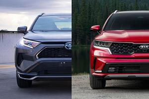 2021 Toyota RAV4 Prime Vs. 2021 Kia Sorento: Hybrid SUV Heroes