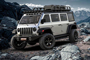 Jeep Wrangler-Based Minivan Is An Awesome Family Hauler