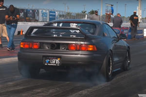 Watch The Fastest Toyota MR2 In The World Destroy The Strip