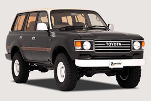 Custom Toyota Land Cruiser Mixes 80s Style With 90s Tech