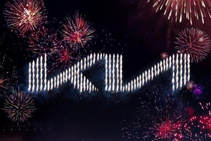 Kia Reveals New Logo With Stunning Fireworks Display And Guinness World Record